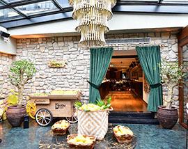 Restoran Taş Duvar Dekorasyon