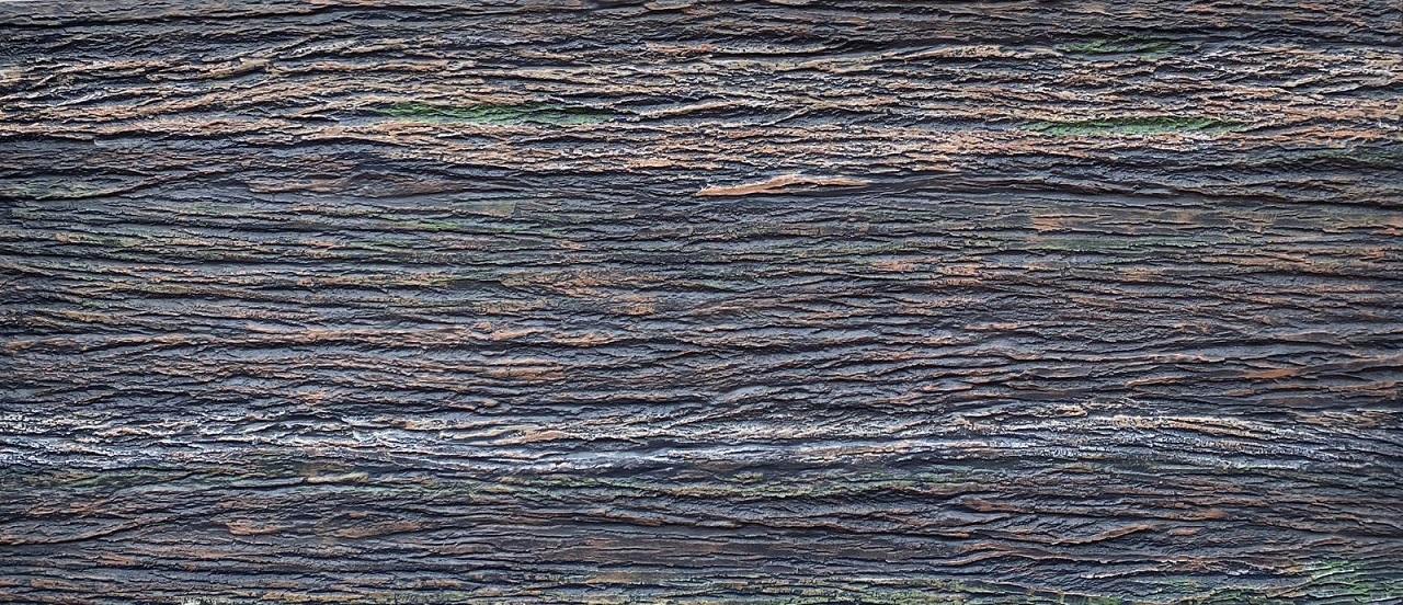 Wood Shell - Marron Duvar Panelleri, Fiber Panel