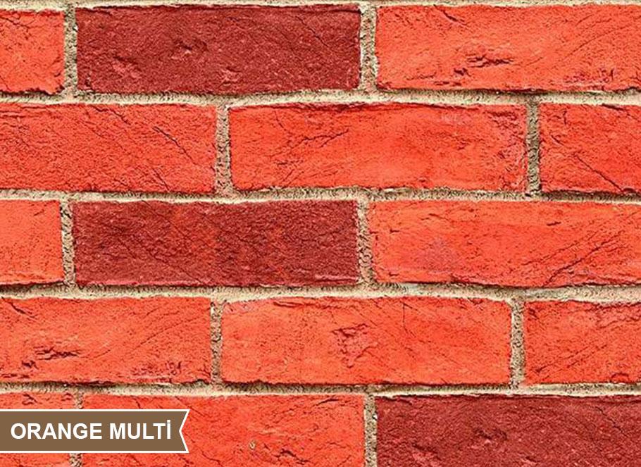 Orange Multi Klinker Tuğla, Duvar Dekorasyon, Dekoratif Tuğla